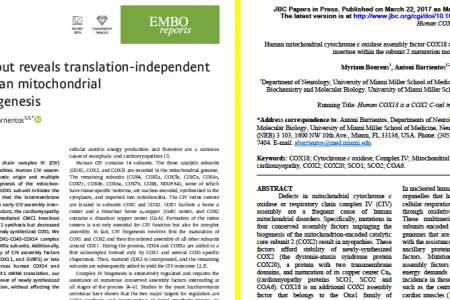 Two New Research articles published