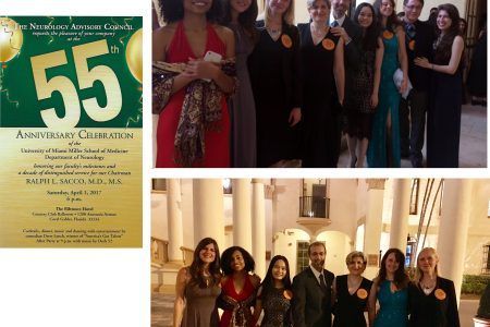 Celebrating the 55th Anniversary of the University of Miami Miller School of Medicine Department of Neurology